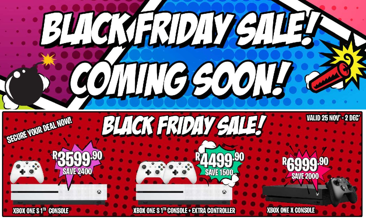 Catalog BT Games - Black Friday valid from 25/11/2019 page number 1
