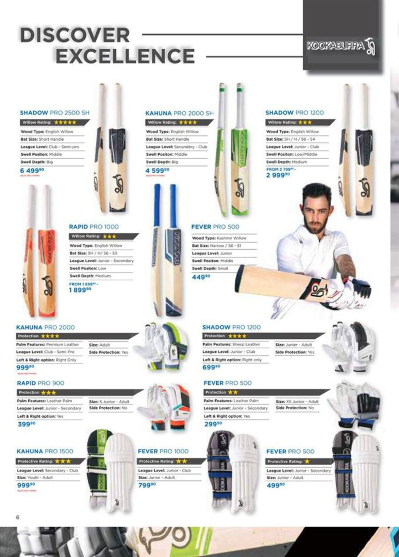 Catalog Cricket Catalogue - page 6 valid from 27/08/2019 page number 6