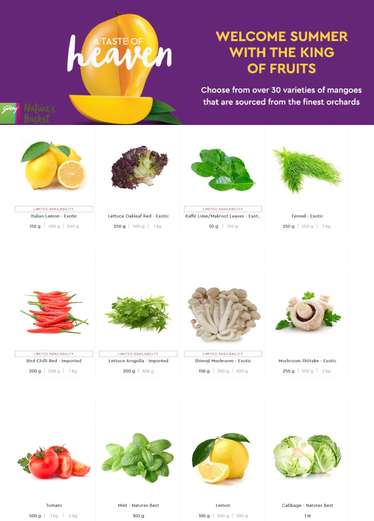 Nature's Basket catalogue valid from 09/05/2019 - page number 4